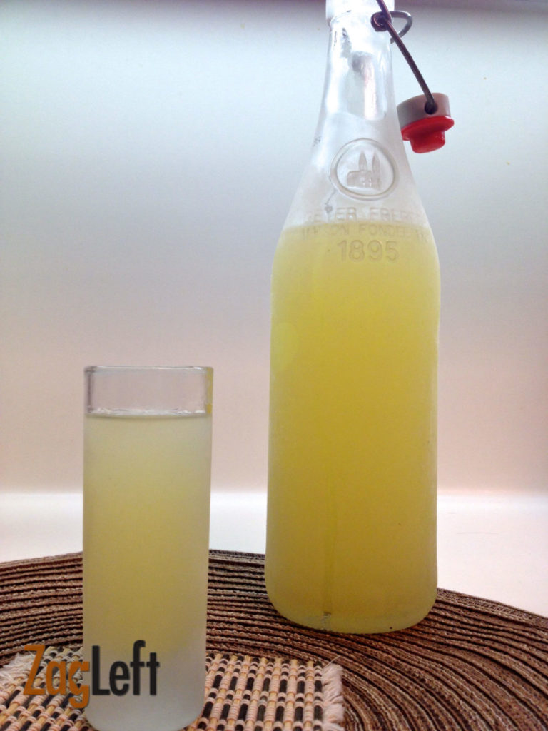 Limoncello Recipe from Zagleft