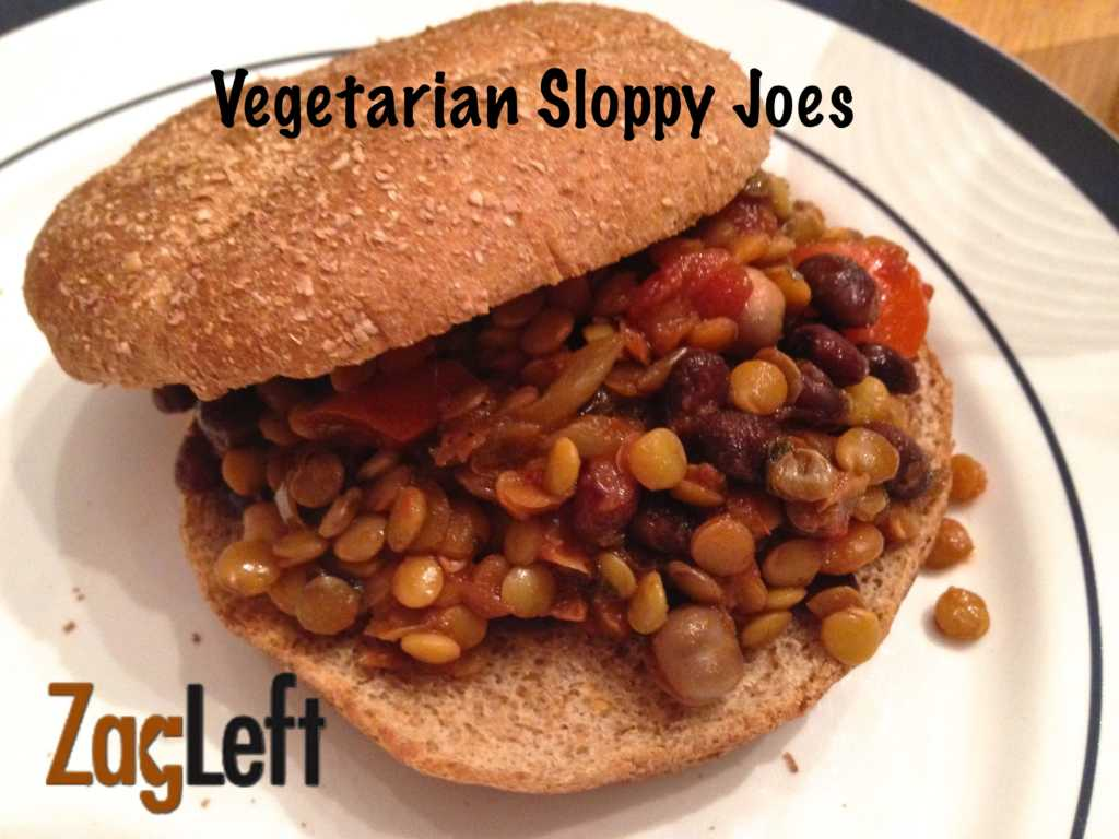 (a) Vegetarian Sloppy Joes from Zagleft - 2