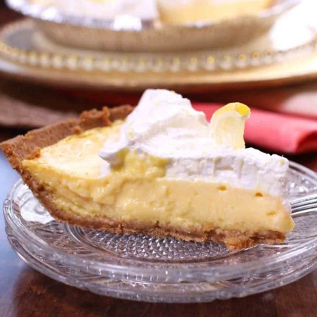 With the perfect balance of sweetness and tartness, this luscious Lemon Mango Icebox Pie is sure to please.